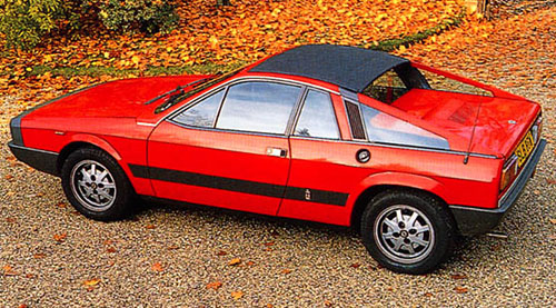 Lancia Montecarlo Monte Carlo Scorpion Red
