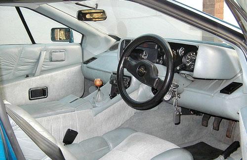 Lotus Esprit S3 Series 3 Interior Inside Cockpit Console Dash Dashboard