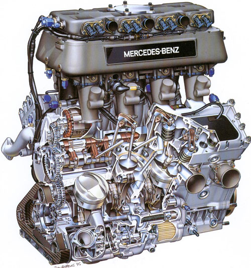 interesting engines the mercedes ilmor 500i spannerhead