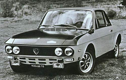 Lancia Fulvia Silver Rally