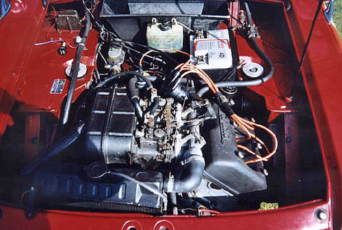 Lancia Fulvia Engine Motor V4