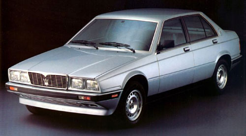 Maserati Biturbo 4-door 425i Silver Blue