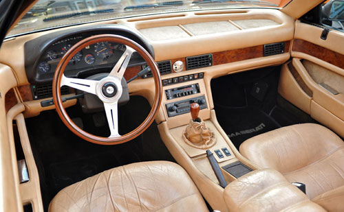 Maserati Biturbo Interior Inside Cockpit Console Dash Dashboard