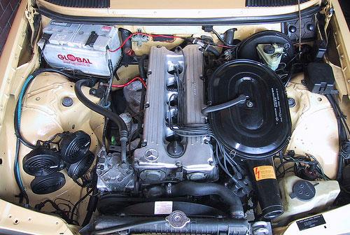 Mercedes Benz MB Merc W123 280E Engine Motor DOHC I6 Straight 6 M110