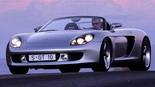 Porsche Carrera GT Silver