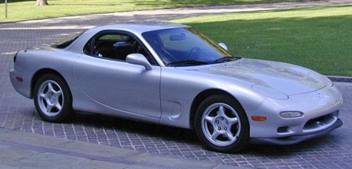 Mazda RX-7 RX7 FD Silver