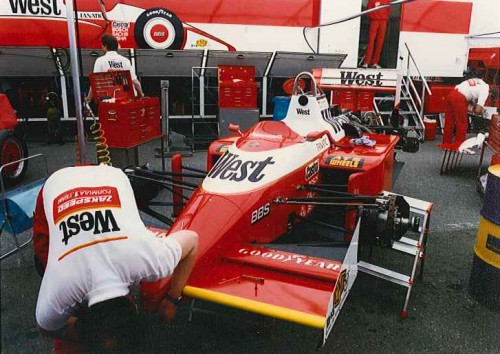 Monaco F1 Formula 1 GP Grand Prix 1987 West Zakspeed