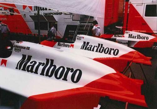 Monaco F1 Formula 1 GP Grand Prix 1987 McLaren Marlboro