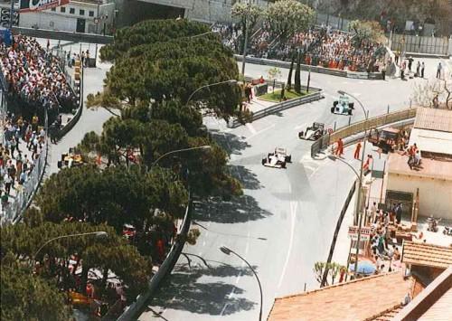 Monaco F1 Formula 1 GP Grand Prix 1987 Anthony Noghes Corner