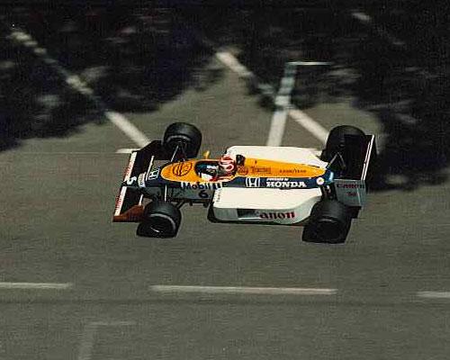 Monaco F1 Formula 1 GP Grand Prix 1987