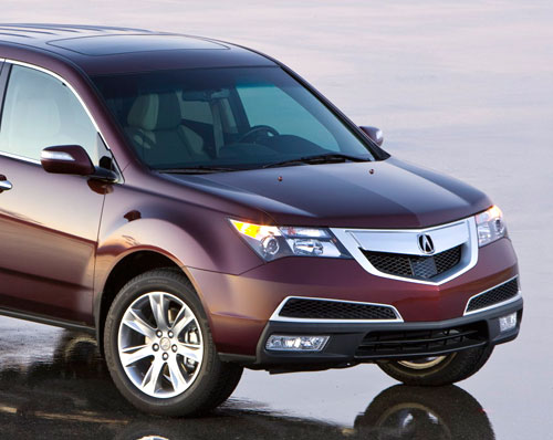 Acura MDX Nose Front Fascia