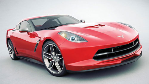 Chevy Chevrolet C7 Corvette Vette 2014 New