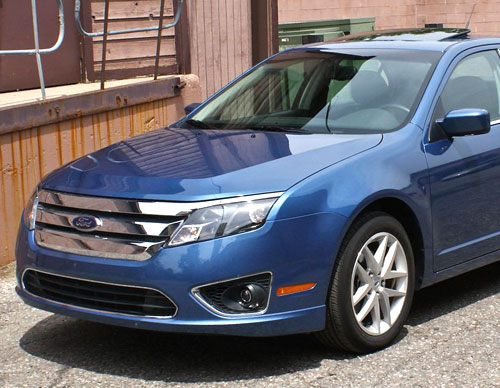 Ford Fusion Nose Front Fascia