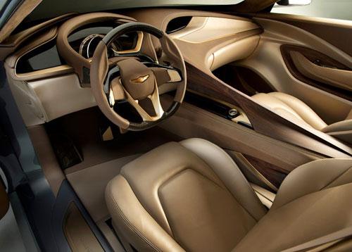 Hyundai HCD-14 Genesis Concept Detroit Auto Show 2013 Interior Inside Cockpit Console Dash Dashboard