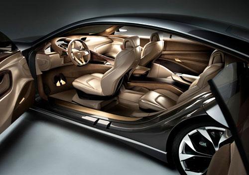 Hyundai HCD-14 Genesis Concept Detroit Auto Show 2013 Interior Inside