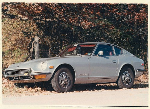 1972 Datsun 240Z S30 901 Silver