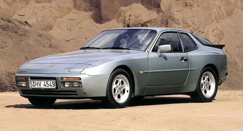 Porsche 944 951 Turbo Bronze Silver