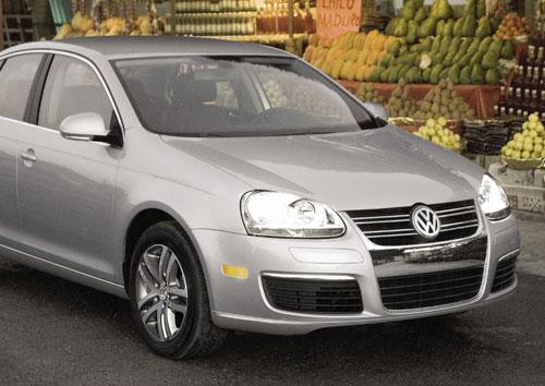 VW Jetta Nose Front Fascia