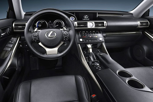 2014 Lexus IS Interior Inside Cockpit Console Dash Dashboard