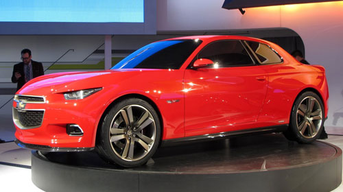 Chevy Chevrolet Code 130R Red Concept