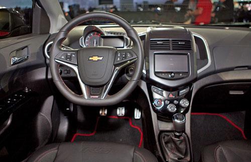 Chevy Chevrolet Code 130R Concept Interior Inside Cockpit Console Dash Dashboard