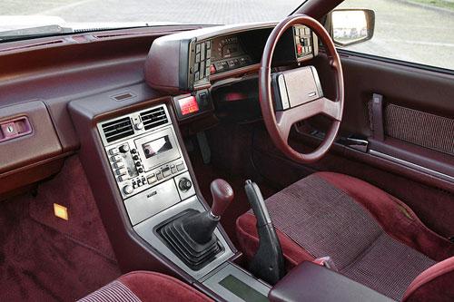 Mazda HB Cosmo Silver Interior Inside Cockpit Console Dash Dashboard