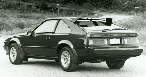Toyota Supra Mark 2 Mk2 Boxy Black Dark