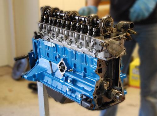 Nissan Datsun L28 L-Series Engine Motor Rebuild