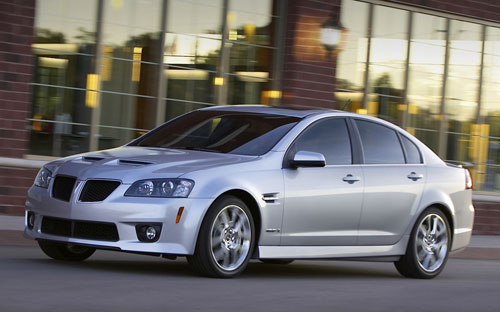 Pontiac G8 GXP Silver