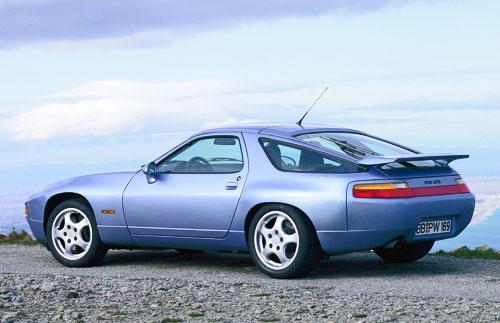 Porsche 928 GTS Blue Silver Gray