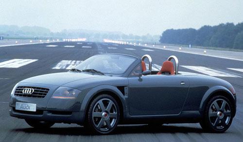 Audi TTS Concept Gray