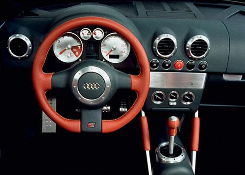 Audi TTS Concept Interior Inside Cockpit Console Dash Dashboard