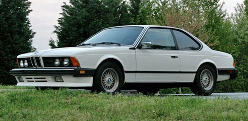 1986 BMW E24 6-Series 635 635CSi Alpine White