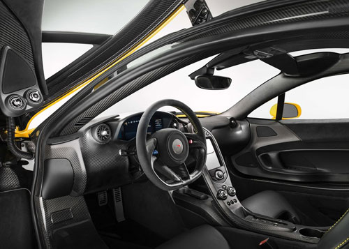 McLaren P1 Interior Inside Cockpit Console Dash Dashboard