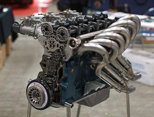 Nissan Datsun L-Series L24 L26 L28 OS Giken Cylinder Head DOHC TC24