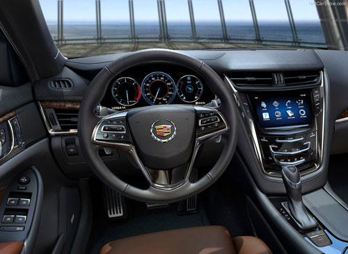 2014 Cadillac CTS Interior Inside Cockpit Console Steering Wheel Dash Dashboard