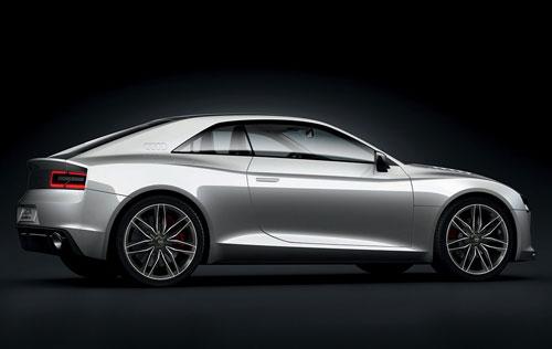 2010 Audi quattro Concept White