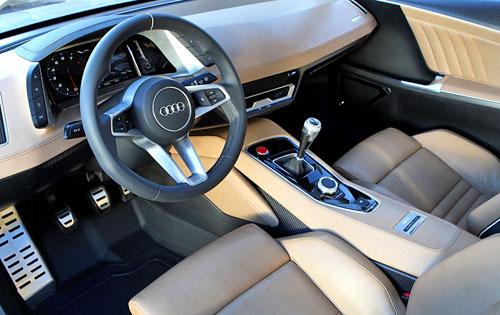 2010 Audi quattro Concept Interior Inside Cockpit Console Dash Dashboard