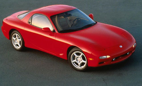 1993 Mazda RX-7 RX7 FD Red