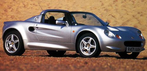1996 Lotus Elise Silver