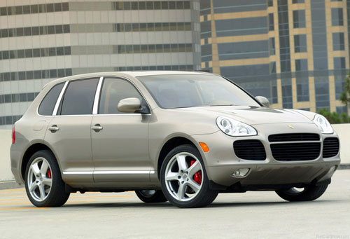Porsche Cayenne Turbo Gray
