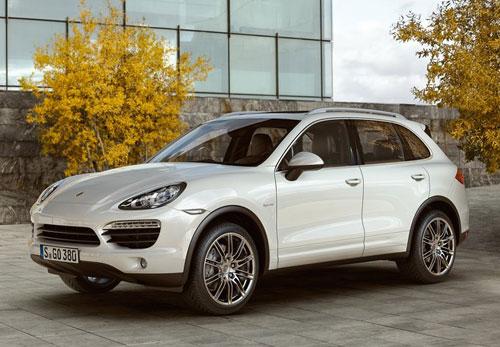 Porsche Cayenne White