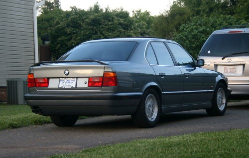 1995 BMW 540i 6-Speed Arktisgrau Arctic Gray