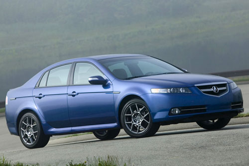 2007 Acura TL Type-S Blue