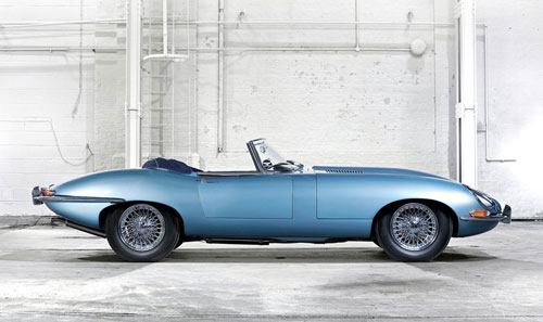 Jaguar Series 1 E-Type Drophead Blue