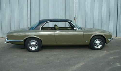 Jaguar XJ-C XJC Green Olive