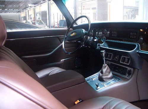 Jaguar XJ-C XJC Interior Inside Cockpit Console Dash Dashboard