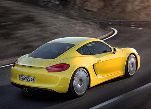 2014 Porsche Cayman Yellow