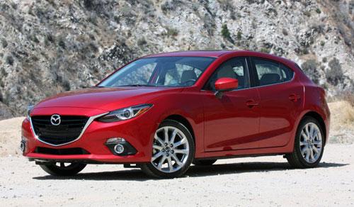 2014 Mazda 3 Red
