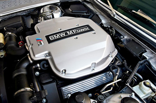 BMW E9 Coupe CS E39 M5 Engine Motor S62